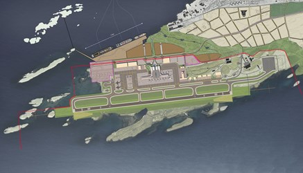 Illustration New Bodø Airport. (Copyright: Avinor)
