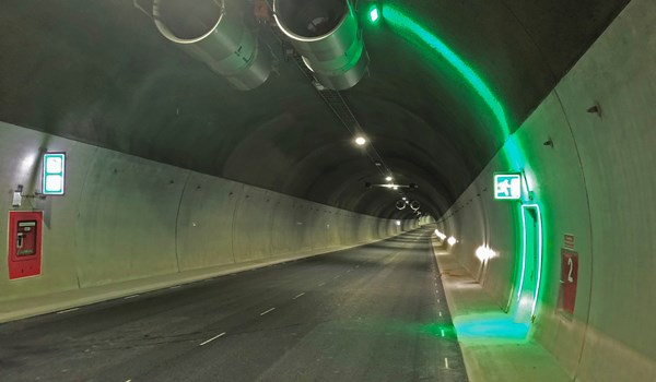 The Bodø tunnel